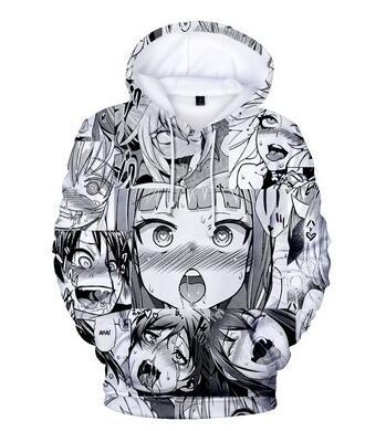 Ahegao Face - Best Selling 3D Hoodies