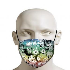 Ahegao Face Mask - Ahegao Face Colored Manga Girl Mask
