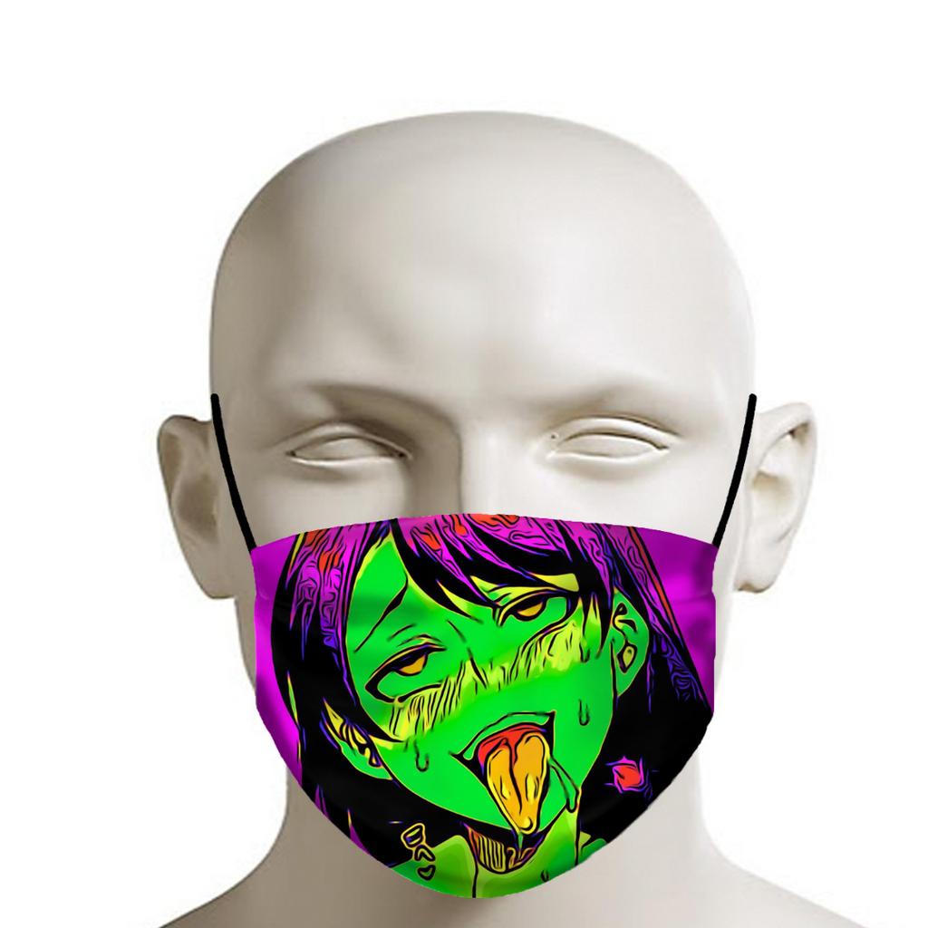 Ahegao Face Mask - Ahegao Mouth Mask