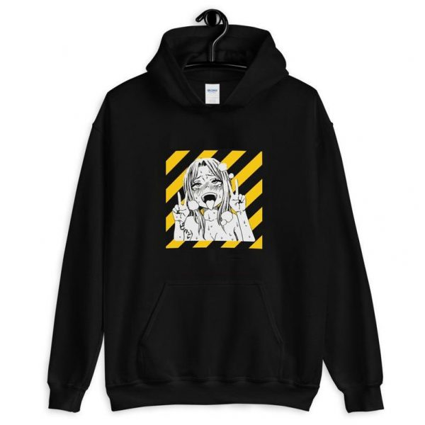 hentai hoodie - My Ahegao Hoodie
